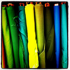 Fabric photo by Litlnemo