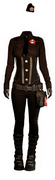 Military-inspired Steampunk (part II) (1/6)