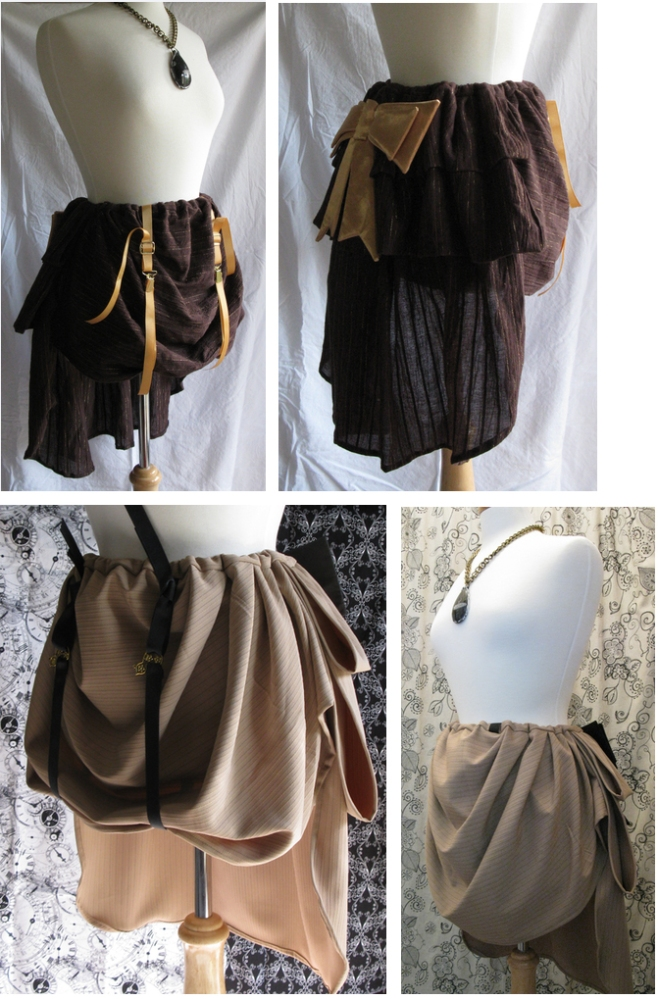 Steampunk supportive skirts (1/6)