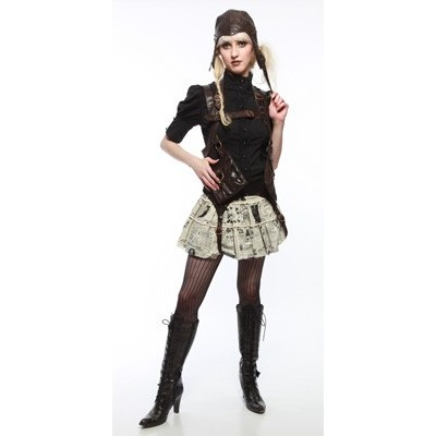 Steampunk supportive skirts (2/6)