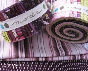 Jelly roll quilting fabrics