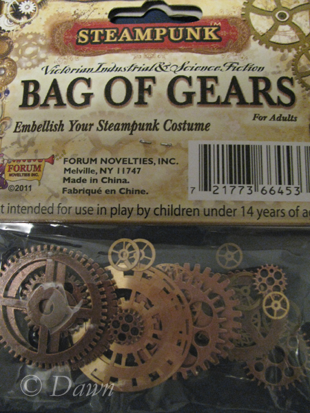 Steampunk: Sources for gears (1/3)