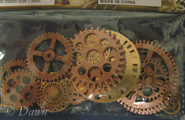 Steampunk: Sources for gears (2/3)