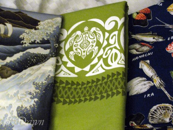 Fabric shopping in Maui (3/5)