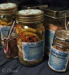 meal in a jar gifts