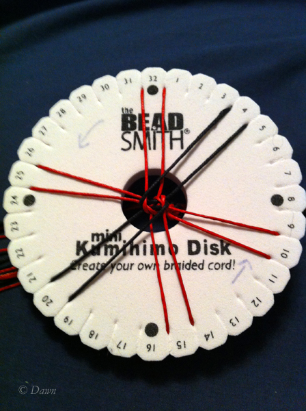 Kumihimo 3 Dawn S Dress Diary