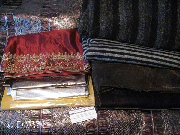 fabric from the 2013 fabric sale