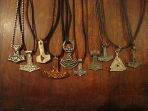 Pendant examples from 'Folk Metal and a Pagan Life' on Facebook