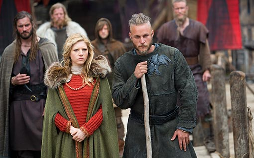 Vikings tv show still/promo photo