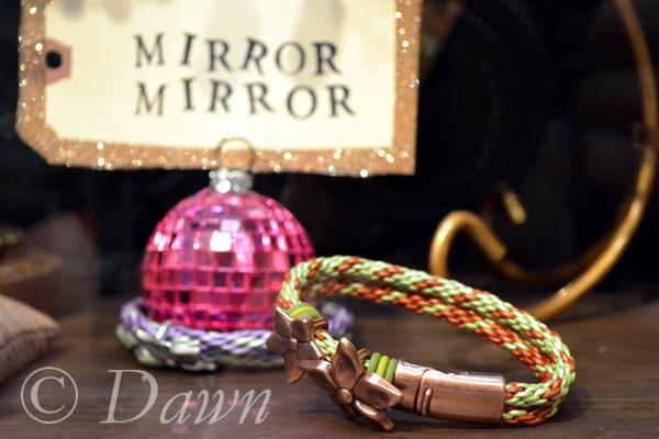 Bracelet on display at Suzie Q beads
