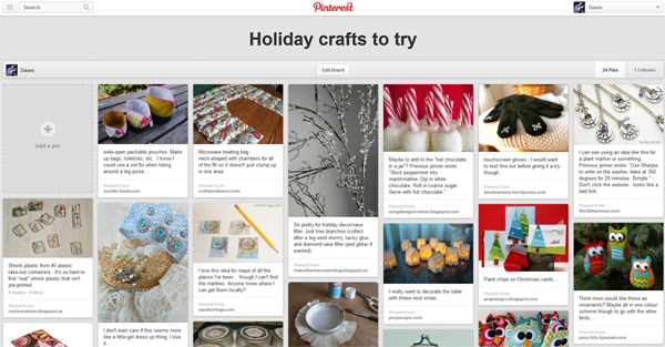 Pinterest Holiday ideas to try
