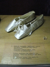 Shoes from the museum display