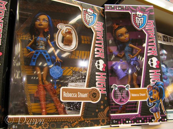 Steampunk Monster High dolls