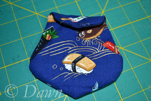 snap-closure coin purse
