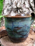 Really nice blue and brown mug