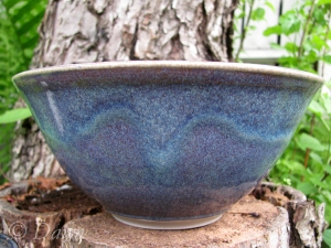 Beautiful purple and blue bowl