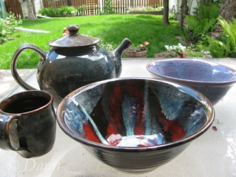 Pottery from the Fairview show