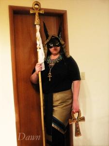 Anubis costume