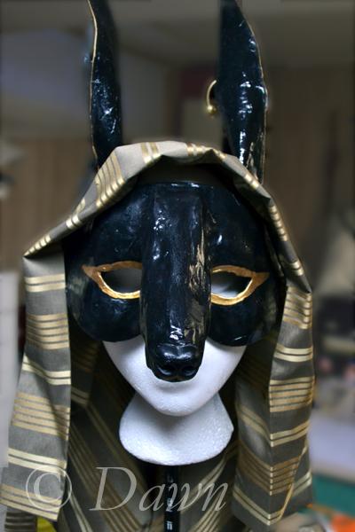 My Anubis mask