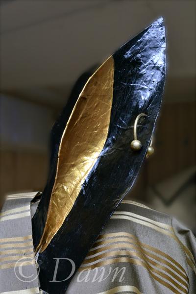 Anubis 'earring' close up