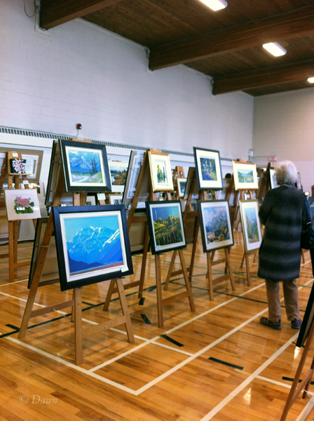 Calgary Sketch Club exhibition