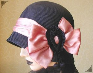 Straw cloche from hatsbyrita.co.uk
