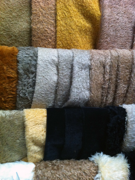 Fur for teddy bears and other stuffed animals