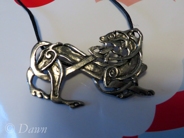 Viking pendants I bought in Vancouver - Lion