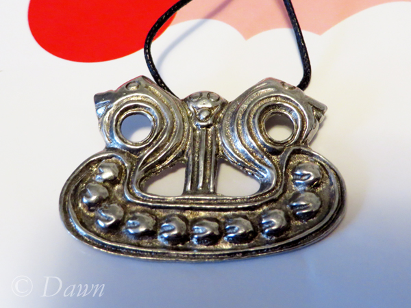 Viking pendants I bought in Vancouver - Viking ship