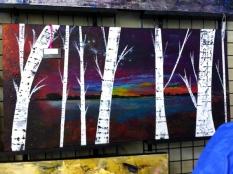 Saturday's Calyx show - iPhone photo