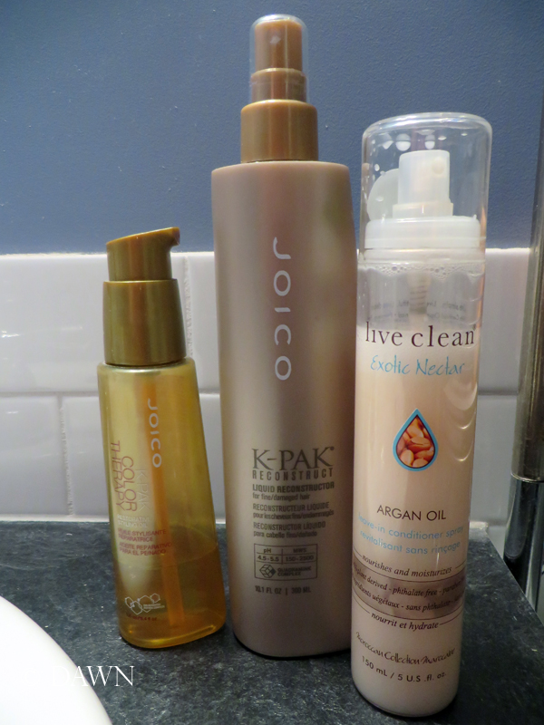Leave-in treatments I use