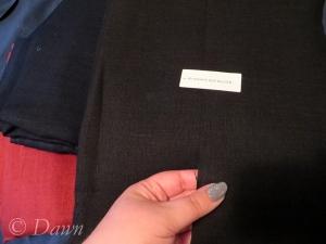Medium weight linen from Fabric-store.com