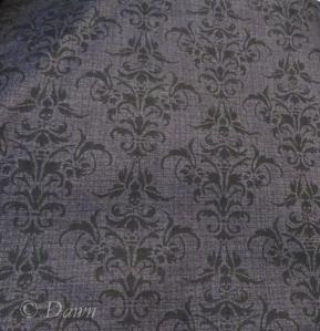 Skull Damask from Fabrics.Com
