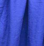 Bright/dark blue apron swatch