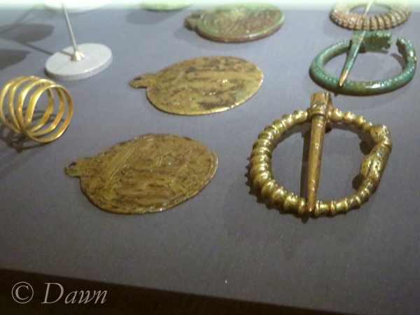 Pendants and penannular brooches in the Iceland National Museum.