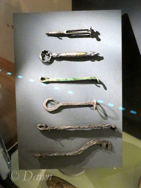 "Keys in the Iceland National Museum's ""Medieval"" area (vs. Viking age)"