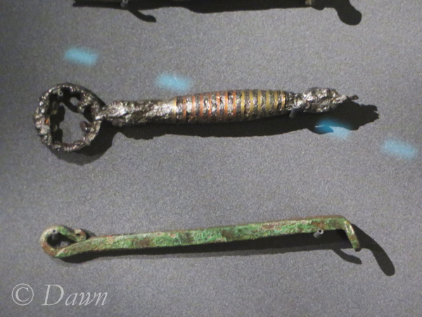 """Keys in the Iceland National Museum's """"Medieval"""" area (vs. Viking age)"""