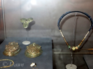 Grave goods from a Viking female grave