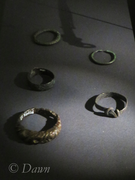 Rings from the Iceland National Museum