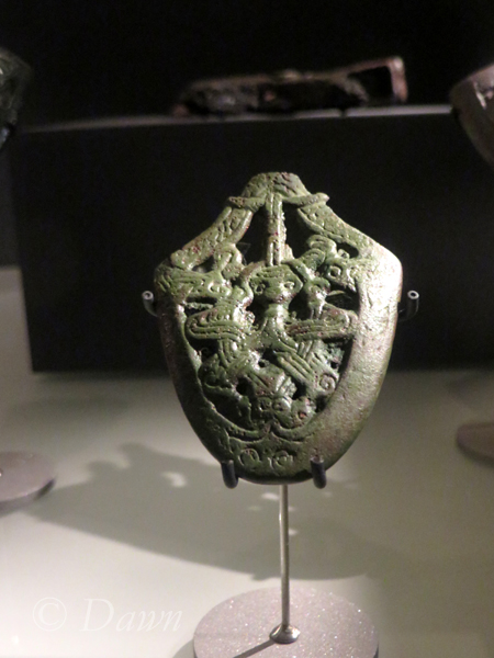 Beautiful ornamentation for Viking Age weapons.