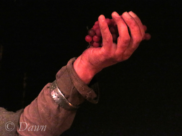 Armband on one of the Vinland wax figures
