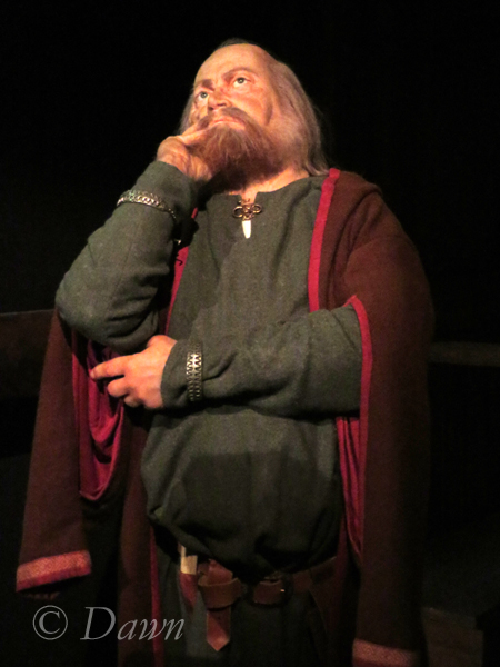 Thiking Viking in the Saga Museum