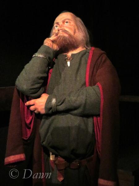 Thiking Viking in the Saga Museum