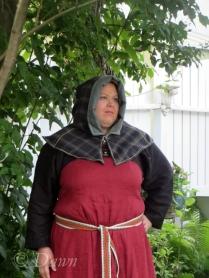 London Hood style hood