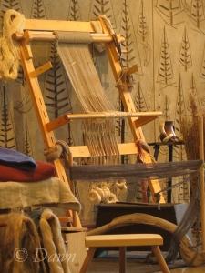 The Vikings marketplace at the Royal BC museum