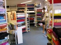 Virka fabric store in Reykjavik