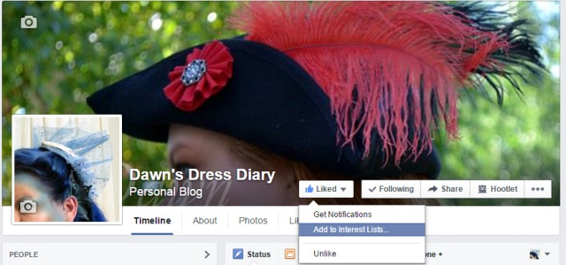Come join me on Facebook!