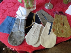 The bags I worked on - plus a few extras