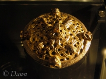Box brooch from the Vikings in BC display