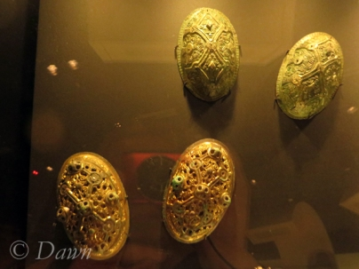 Oval brooches from the Vikings in BC display
